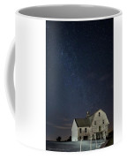 Barn With Milky Way Coffee Mug