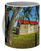 Barn With Red Metal Roof Coffee Mug