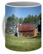 Barn With Tree In Silo Coffee Mug