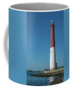 Barnegat Lighthouse And Inlet New Jersey Coffee Mug