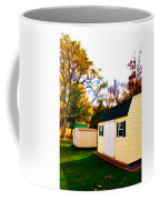 Barns In Autumn Coffee Mug
