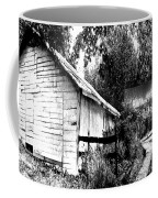 Barns In Black And White Coffee Mug