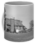 Barn's Last Season Bw  Coffee Mug