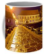 Baroque Town Of Varazdin Square At Evening Coffee Mug