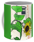 Barrio Sunflower Coffee Mug by Sarah Loft
