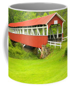 Barron's Covered Bridge Coffee Mug