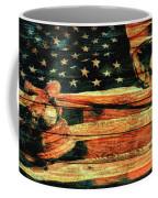Baseball Grunge Barn Door Coffee Mug