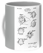 Baseball Training Device Patent 1961 Coffee Mug