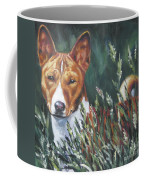 Basenji In Grass Coffee Mug
