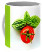 Basil And Cherry Tomato Coffee Mug