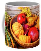 Basket Full Of Autumn Coffee Mug