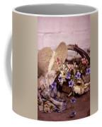 Basket Of Flowers Coffee Mug