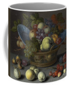 Basket Of Fruits Coffee Mug