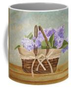 Basket Of Lilacs Coffee Mug