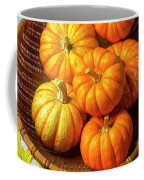 Basket Of Pumpkins Coffee Mug