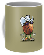 Basketball Cowboy Coffee Mug
