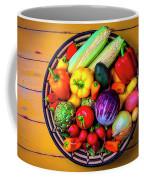 Basketful Of Fresh Vegetables Coffee Mug