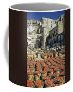 Baskets Filled With Tomatoes Stand Coffee Mug by Luis Marden