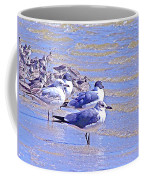 Basking On The Seashore Coffee Mug
