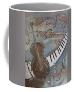 Bass And  Keys Coffee Mug
