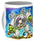 Bass Monster Coffee Mug