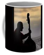 Bass Silhouette Coffee Mug