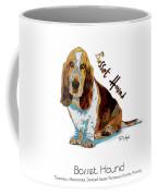 Basset Hound Pop Art Coffee Mug