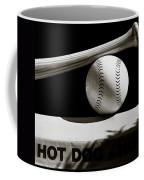 Bat And Ball Coffee Mug by Dave Bowman