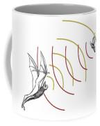 Bat Bio Sonar Coffee Mug