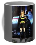 Bat Gal In The City Coffee Mug