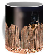 Bat Squirrel  The Cape Crusader Known For Putting Away Nuts.  Coffee Mug