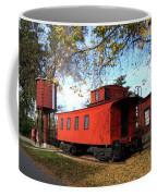 Batavia Depot Caboose Coffee Mug by Ely Arsha