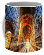 Bath Abbey Sun Rays Coffee Mug
