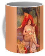 Bather And Maid The Toilet Coffee Mug
