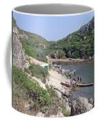 Bathers At Cales Coves Coffee Mug