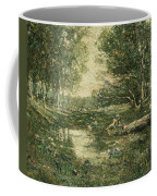 Bathers. Woodland Coffee Mug