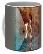 Bathing Maiden Coffee Mug