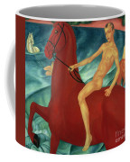 Bathing Of The Red Horse Coffee Mug