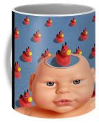 Bathing With Devil Duck Coffee Mug