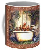 Bathtub Garden Coffee Mug