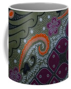 Batik Art Pattern Coffee Mug