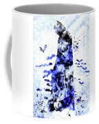 Batman Colored Grunge Coffee Mug