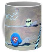 Batman Vs Superman Snail Coffee Mug