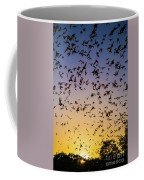 Bats At Bracken Cave Coffee Mug