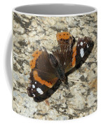 Battered Butterfly Coffee Mug