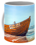 Battered By The Sea Coffee Mug