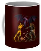 Battle Of Good Vs Evil Coffee Mug