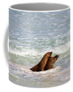 Battle For The Beach Coffee Mug