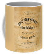Battle Hymn Of The Republic Coffee Mug