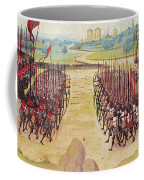 Battle Of Agincourt, 1415 Coffee Mug by Granger